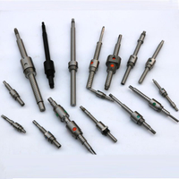 Custom threaded round nut ball screws for linear actuator