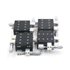Hot sale 60*60mm 4 Axis XYZR Trimming Platform Cross Slide Guide Rail Manual Linear Stages Slipway