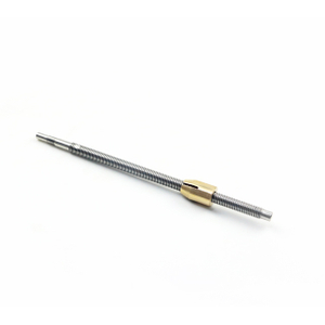 10mm Lead Screw with Trapezoidal Thread and Brass Nut for 3D Printer Parts