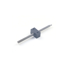 pitch 2mm diameter 6mm with POM square nut trapezoidal screw lead screw Tr6x2