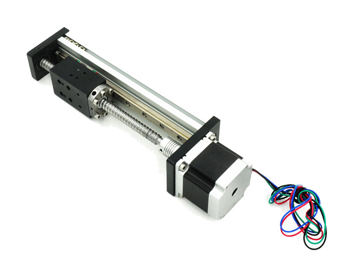 50-1000mm CNC Linear Module Rail Motion Slide Table XYZ Axis Ball Screw Guide Stage Nema 23 Motor For 3D Printer Robotic Arm Kit
